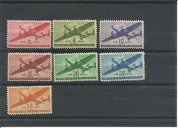ESTADOS UNIDOS YVERT AEREO   27/32  MH  * - 2b. 1941-1960 Nuovi