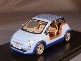 PremiumX 255, Fiat 500 Tender Two Castagna Milano, 2008, 1:43 - Voitures, Camions, Bus