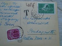 D144645 Harkany - OTI Gyogyhaz -  Porto Stamps Hungary  1950 - Hungary