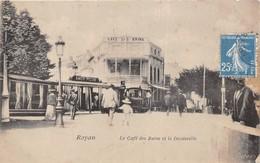 ¤¤   -   ROYAN   -  Le Café Des Bains Et Le Decauville  -  Train  -  ¤¤ - Royan