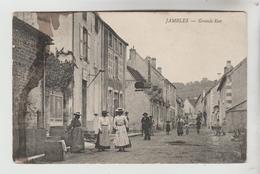 CPA JAMBLES (Saone Et Loire) - Grande Rue - France