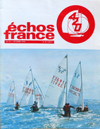 Voile - Revue Echos De France - Le 420 - N° 23 Octobre 1978 (24 Pages) + Brevet De Flotte Offert - Sport