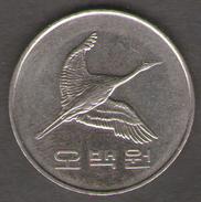 COREA DEL SUD 500 WON 2012 - Corea Del Sud