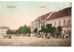 ROMANIA - ALBA IULIA / GYULAFEHERVAR -  TOWN HALL - EDIT SCHASER FERENOZ - 1909 - Cartes Postales