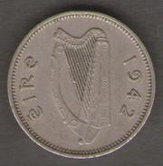 IRLANDA 3 PENCE 1942 - Irlanda