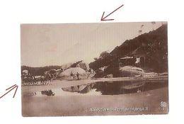 BRAZIL - SANTOS - PRAIA DO GUARUJA - RPPC POSTCARD - EDIT F. MANZIERI - 1914 - Cartoline