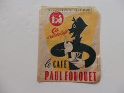 Sac Papier Du Café Paul Fouquet.. Voir Scan Dos. - Non Classés