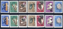 SOVIET UNION 1964 Agricultural Produce Perforated And Imperforate Sets MNH / **.  Michel 2922-28A-B - Vegetables