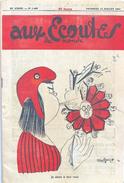 Revue De Satire Politique: Aux Ecoutes Du Monde N° 1407 (Juillet 1951) - Je Sème à Tous Vents - Politics