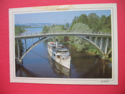 SHIP SUOMI.Aijalansalmen Vanha Silta - Finland