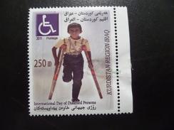 Kurdistan MNH 250 D Chilld Disabled 2011 - Iraq