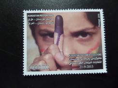 Kurdistan MNH 5000 D 2013 Elections - Iraq