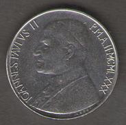 VATICANO 50 LIRE 1980 - Vaticano