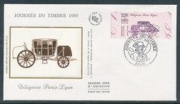 1989 Env 1er Jour Journée Du Timbre - Paris - 1980-1989