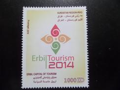 Kurdistan MNH 1000 D 2014 Erbil Tourism - Iraq