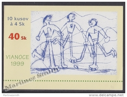 Slovakia - Slovaquie 1999 Yvert C307 Christmas - Booklet - MNH - Slovaquie
