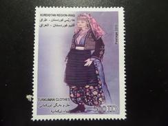 Kurdistan MNH 1000 D 2013 National Costumes Tukmen - Iraq