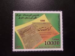 Kurdistan MNH 1000 D 2010 Newspaper - Iraq