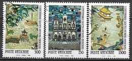Timbres - Europe - Vatican - 1990 -  Lot De 3 Timbres - - Vaticano (Ciudad Del)