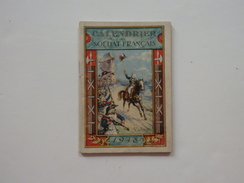Calendrier Du Soldat Français Valmy. Voir Scan. - Livres, Revues & Catalogues
