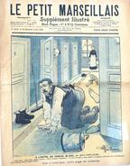 Hebdomadaire: Le Petit Marseillais, Supplément Illustré N° 50 (13 Décembre 1903) - Signé Albert Guillaume - Books, Magazines, Comics