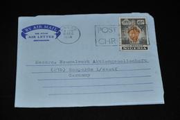 8- Luftbrief Von Nigeria Nach Bosperde Deutschland - [7] République Fédérale