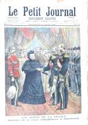 Le Petit Journal N° 330 (14 Mars 1897): Arrivée De La Reine D'Angleterre à Cherbourg, Supplément Illustré - Newspapers