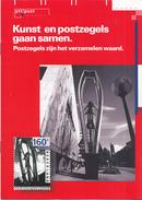 Nederland - PTTPOST - Brochure - Kunst En Postzegels Gaan Samen - December 1993 - 6 Pagina's - Nieuw Exemplaar - Amministrazioni Postali