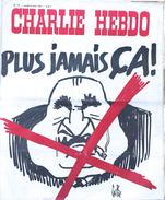Charlie Hebdo N 177 (8 Avril 1974) - Plus Jamais ça! (Pompidou Est Mort) - Humour