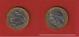 Italie  --  1000 Lires 1998  --  Km # 194  --  état  TTB - 1 000 Lire