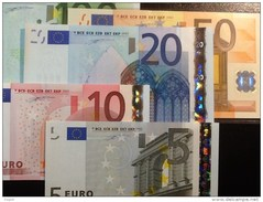EURO SPAIN V DUISENBERG M002 5 10 20 50 100 UNC - EURO