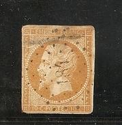 N° 13, 10 Cts Bistre, PC 184, Auray, Morbihan - 1849-1876: Klassik