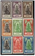 Inde N° 85 / 104 X  La Série Des 20 Valeurs   Trace De  Charnière Sinon TB