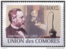 Louis Pasteur, Rabies Vaccine, Asymmetry Of Crystals, Chemistry, Microbiology,  MNH Comores - Louis Pasteur