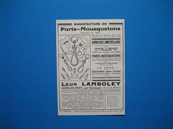 (1927) Manufacture De Porte-Mousquetons LÉON LAMBOLEY à Auxelles-Haut, Par Giromagny (Territoire De Belfort) - Vieux Papiers