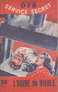 C1  Maurice LIMAT - L USINE DU DIABLE 078 Service Secret DOMENICA STILL - Antichi (ante 1960)