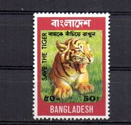Sello Nº 57 Bangladesh. - Felinos