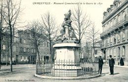 N°33280 -cpa Charleville -monument Commémoratif- - Charleville