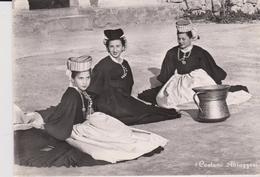 CPSM 10x15 . ITALIE  Folklore SULMONA . Costumi Di Scanno (Donne In Costumi Abruzzeri) - Italy