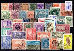 50 Sellos Diferentes De Burma. - Myanmar (Burma 1948-...)