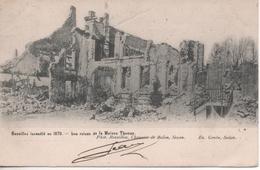 BAZEILLES LES RUINES DE LA MAISON THOMAS - France