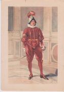 CPSM 10x15 . CITTA DEL VATICANO . Guarda Svizzera . Sergente  (Illustrazione) - Vatican