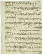 BAR-LE-DUC 1785 Morlaincourt, Gabriel De LA MORRE (1727-1786) President De La Chambre Des Comptes - Documents Historiques
