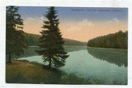 GERMANY - AK290180 Kuttelbacher (?) Teich Bei Hahnenklee - Oberharz - Oberharz