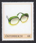ÖSTERREICH 2015 ** Brille, Große Kunststoffbrillen Der 70er Jahre - PM Personalisierte Marke MNH - Timbres Personnalisés