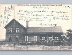 SANDVIK UMEÅ Logen 2742 SKÄRGÅRDSKLIPPANS ORDENSHUS Goodtemplar ? 1906 - Suède