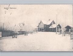 BODEN RAILWAY STATION Norrbotten Snow Scene 1916 - Schweden