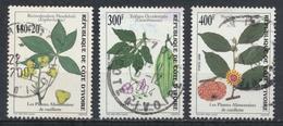 °°° COSTA D´AVORIO COTE D´IVOIRE - Y&T N°1041/43 - 2000 °°° - Costa D'Avorio (1960-...)