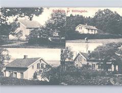 SYLTENÄS Pr. STILLINGSÖN (handstamp) 1910 Various Views - Svezia