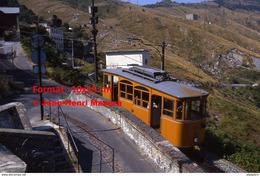 Reproduction Photographie D´un Tramway Ferrovia Genova Casella Circulant Dans Genova En Italie En 1984 - Riproduzioni